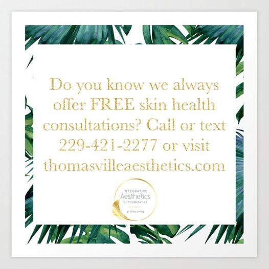 free skin consultation graphic